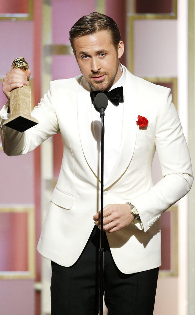 Ryan Gosling, 2017 Golden Globes, Winners
