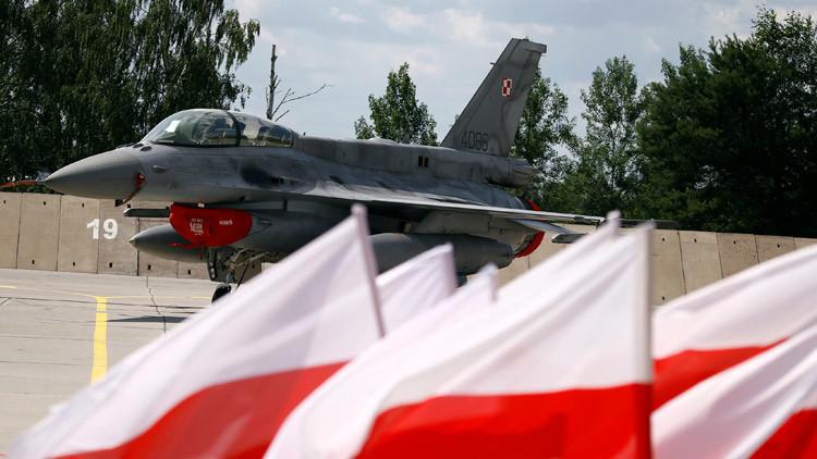 Polonia recibe a soldados de EE.UU. y anuncia la compra de un centenar de cazas usados a Washington