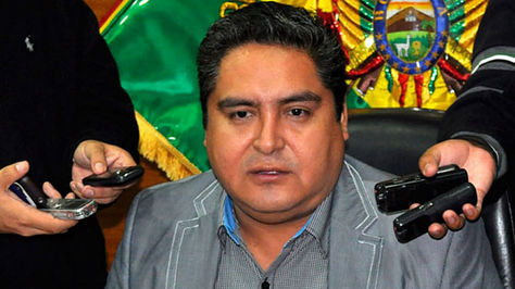 Oswaldo Valencia, Presidente del TCP