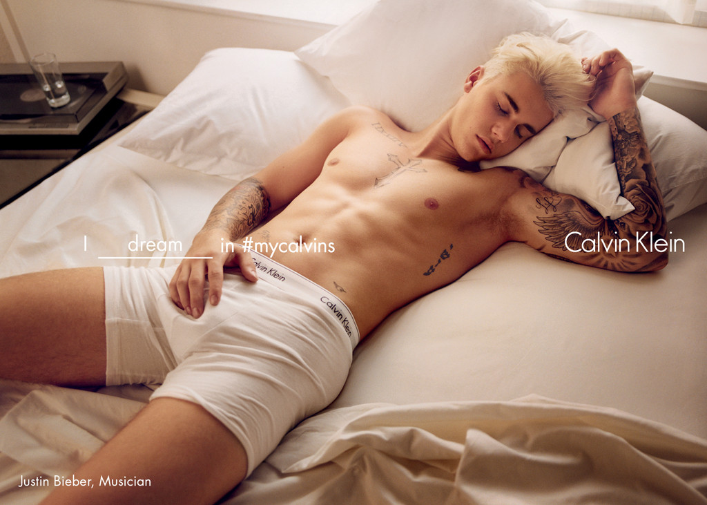 Justin Bieber, Calvin Klein Campaign