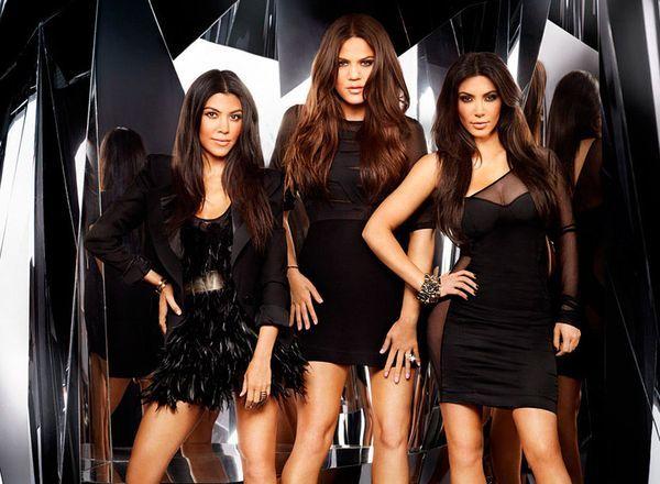 Las hermanas Kourtney, Khloe y Kim Kardashian.