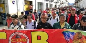 Central Obrera advierte con paro indefinido por restitución del preaviso, la CNS y el fondo para el agro