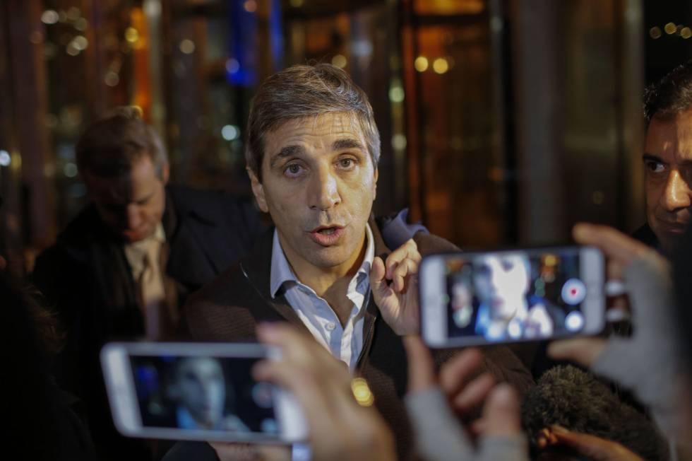 El ministro de Finanzas argentino, Luis Caputo.