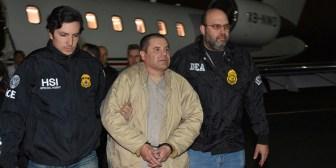 Primer vídeo: sacan al Chapo de prisión para extraditarlo a EE.UU.