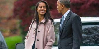 Malia Obama será becaria en la productora de cine The Weinstein Co.