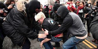 Los manifestantes contra Donald Trump que provocaron disturbios podrían pasar hasta 10 años en prisión