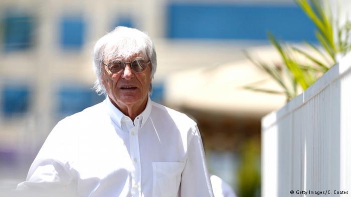 Bernie Ecclestone en imagen de archivo