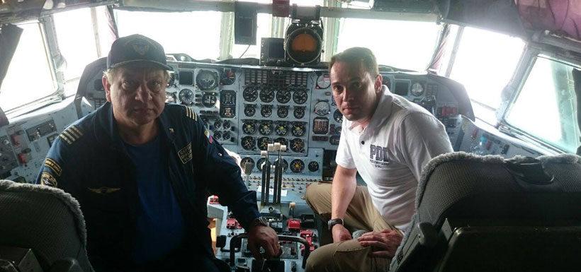 El relato del chileno que se unió a la tripulación rusa para combatir los incendios