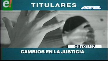 Video titulares de noticias de TV – Bolivia, noche del martes 3 de enero de 2017