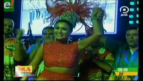 Agrupación carnavalera Jichi Michi proclamó a su reina Sheila I