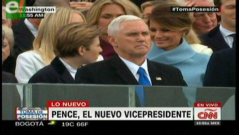 Mike Pence, nuevo vicepresidente de EE.UU.