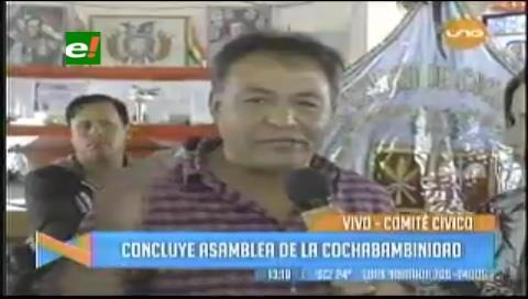 Cívicos de Cochabamba dan ultimátum por el agua