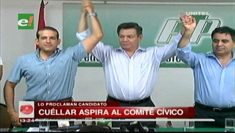 Proclaman a Fernando Cuéllar como candidato al Comité Cívico Pro Santa Cruz