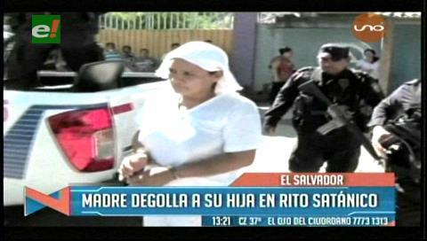 El Salvador: Madre degolla a su hija de dos años por un rito de magia negra
