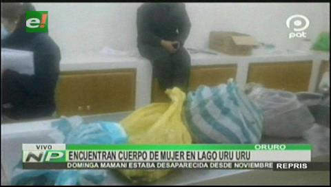 Oruro: Cuerpo de anciana desaparecida es encontrado en el lago Uru-Uru