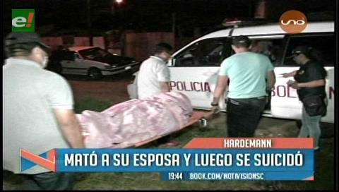 Hombre degolló a su pareja y se suicidó tras cometer el crimen