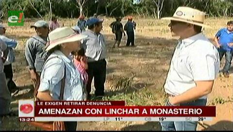 Comunarios amenazan al diputado Monasterio con lincharlo si no retira denuncia de tala