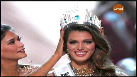 La francesa Iris Mittenaere es Miss Universo 2016