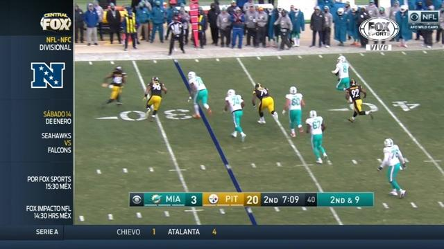 Steelers hundió a Dolphins
