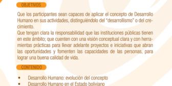 CEDURE organiza curso sobre Desarrollo Humano