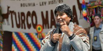 Morales quiere aviones contra incendios y para inducir lluvias en Bolivia