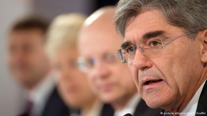 Joe Kaeser, gerente general de Siemens.