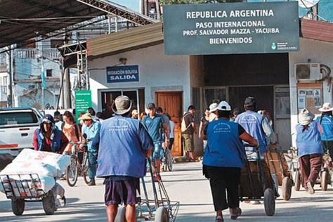Paso fronterizo que une Argentina con Bolivia. Foto: Que Pasa Salta