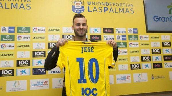 El extremo español Jesé Rodríguez, sin lugar en el Paris Saint Germain, se marchó a Las Palmas