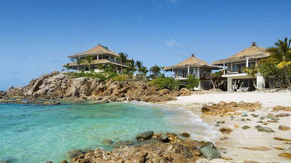 El exclusivo resort de isla Mosquito donde Richard Branson recibió a los Obama