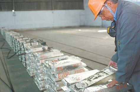 Exportación de minerales en Bolivia
