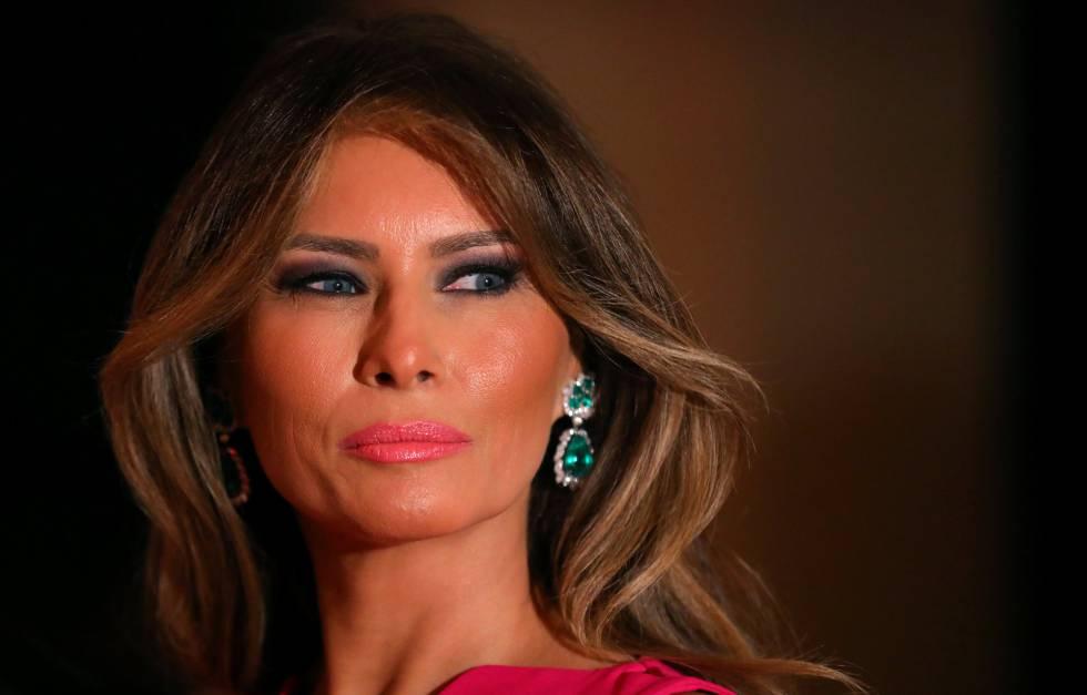 La primera dama de EE UU Melania Trump, el pasado 4 de febrero.