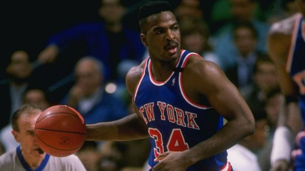 Charles Oakley jugó en los New York Knicks por 10 años, entre 1988 y 1998 (Getty Images)