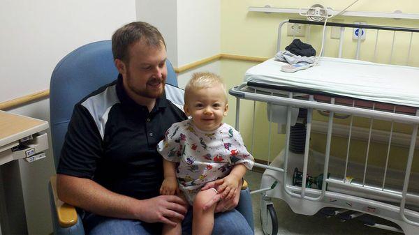 Ryan padece el Síndrome de Hunter, una enfermedad genética que afecta a los niños (ryanourlion)