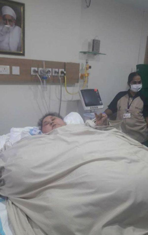 Iman Abdel-Atti, de 36 años, es la mujer más pesada del mundo