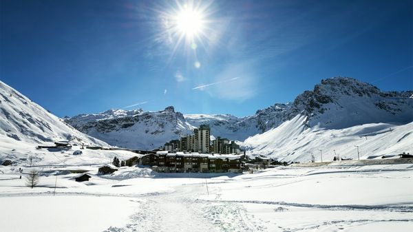 El centro de ski se encuentra en Tignes, sobre los Alpes franceses (IStock)