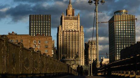 El Ministerio de Exteriores ruso.