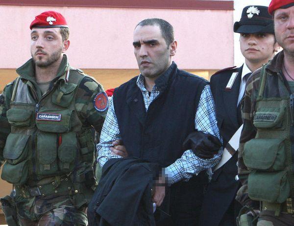 Salvatore Coluccio fue uno de los menores de la 'Ndrangheta: lo detuvieron en 2009 por seguir el destino familiar.