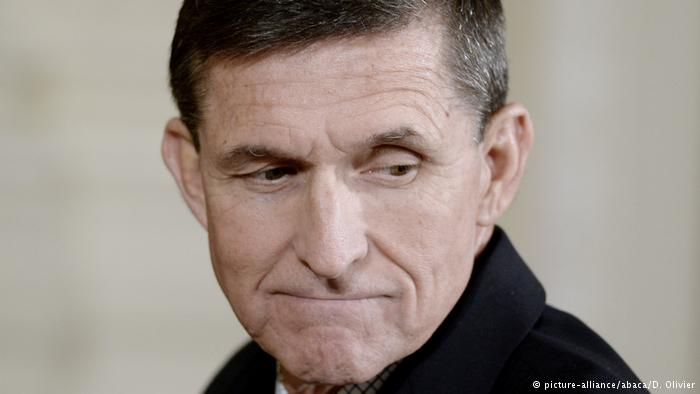 USA Michael Flynn in Washington (picture-alliance/abaca/D. Olivier)