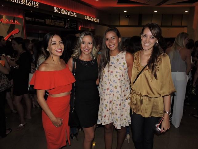 Andrea Dominguez, Roxana Del Río, Gina Jauregui y Vanesa Añez