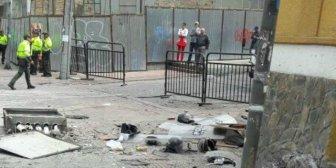Decenas de heridos por explosión en el centro de Bogotá