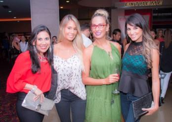 Carla Porcel, Camila Gil Calabi, Marcia Calabi y Rosario Jordán