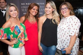 Carlita Rodríguez, Vithia Zubieta, Tania Rivero y Dica Rodríguez