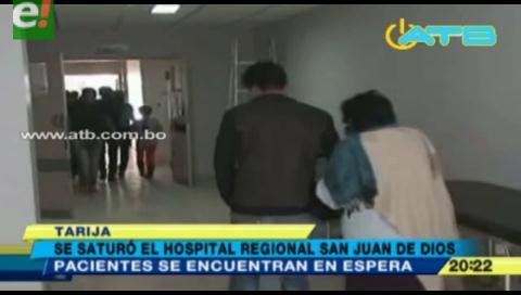 Colapsó el Hospital San Juan de Dios de Tarija