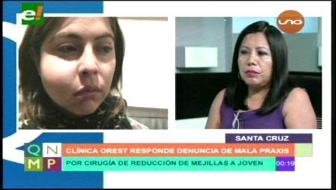 "Abogada del doctor Unzueta: ""Sufre de amnesia Mariana Inclan"""