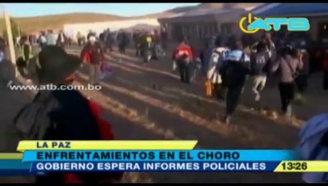 El Choro: Registran enfrentamientos entre comunarios