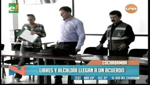 Cochabamba: Transporte libre y Alcaldía firman acuerdo y se levantan los bloqueos