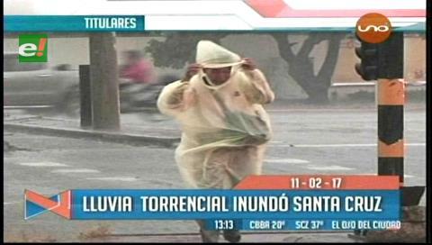Video titulares de noticias de TV – Bolivia, mediodía del sábado 11 de febrero de 2017