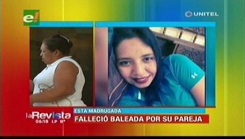 Fallece mujer baleada por su esposo