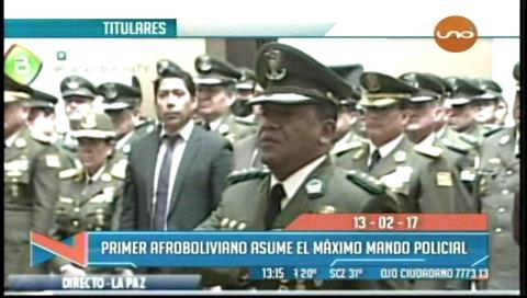 Video titulares de noticias de TV – Bolivia, mediodía del lunes 13 de febrero de 2017