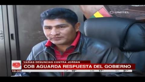 COB da 24 horas más de plazo al Gobierno para solucionar el conflicto de la CNS